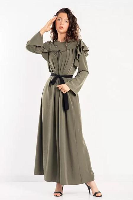 Melike Tatar Haki Taşlı Elbise